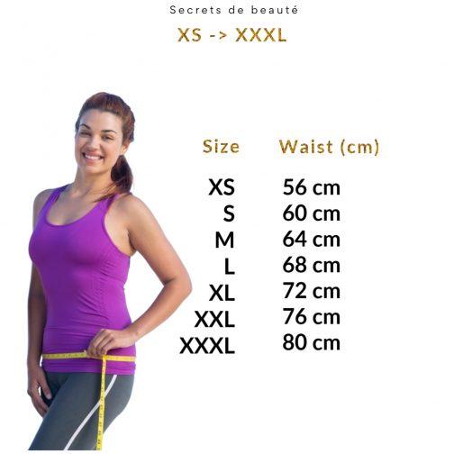 culotte menstruelle tailles