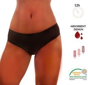 culotte menstruelle flux abondant