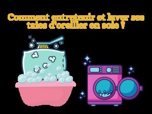 Comment laver sa taie d'oreiller en soie ?